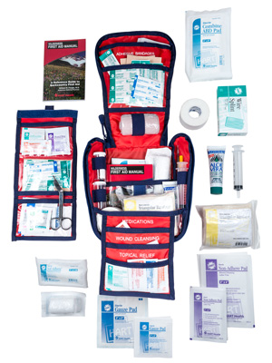 Interior view of the Extended First Aid Kit
