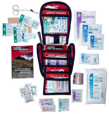 Interior view of the Weekend First Aid Kit