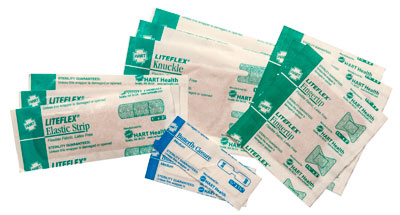 HART Health Adhesive Bandages in kit
