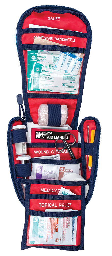 Interior view of the Multiday First Aid Kit