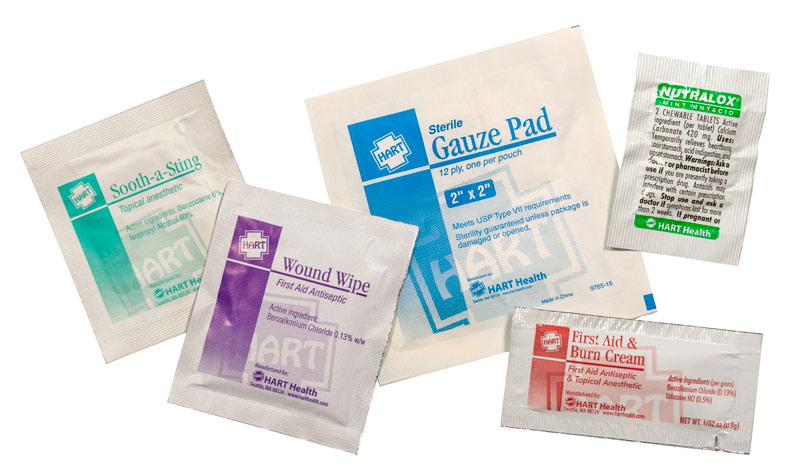 HART Health product packaging samples